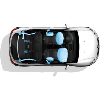4 airbags de serie